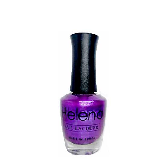 لاک ناخن هلنا مدل H026. Violet shimmer