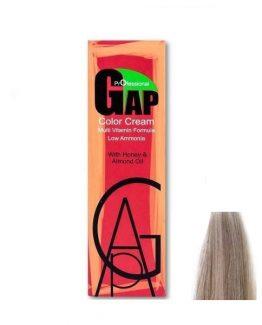 رنگ مو گپ سری خاکستری مدل بلوند خاکستری خیلی خیلی روشن شماره 10.1