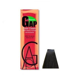 رنگ مو گپ سری زیتونی مدل بلوند زیتونی تیره شماره 6.2