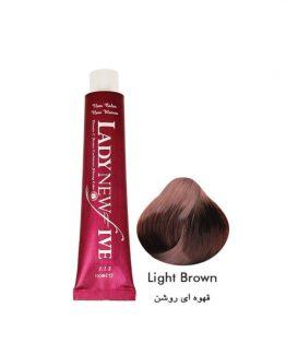 رنگ مو لیدی نیوفایو سری طبیعی شماره 5