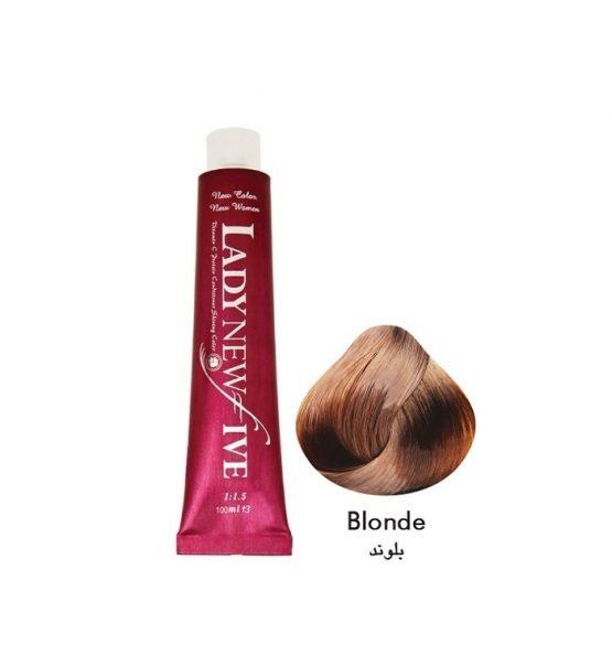 رنگ مو لیدی نیوفایو سری طبیعی شماره 7
