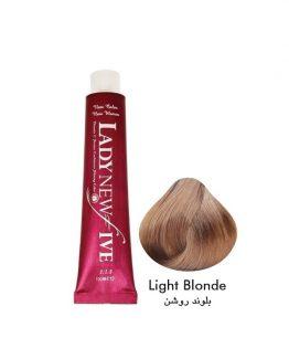 رنگ مو لیدی نیوفایو سری طبیعی شماره 8